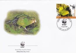 WWF - 368,21 - FDC - € 1,00 - 3-8-2005 - 45c - Kakapo - New Zealand - W.W.F.