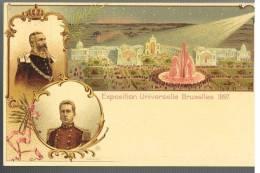 Carte Illustrée 1 Exposition Universelle De Bruxelles 1897 Neuve - Illustrierte Karten