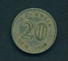 MALAYSIA  -  1968  20 Sen  Circulated  As Scan - Malaysie