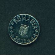 ROMANIA  -  2006  10 Bani  Circulated  As Scan - Roumanie