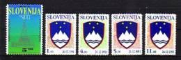 Slovenia Slovenie Slowenien 1991 - COMPLETE Year  -  Mi. 1-5 - Eslovenia