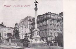 Italy Napoli Naples Piazza dei Martiri