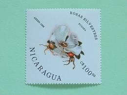 Nicaragua 1986 MINT Rose Flower Scott # 1499 - Cat. Val. = 4.00 $ - Nicaragua