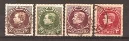 RO@: Nr 289 - 292  (A222) - 1929-1941 Big Montenez