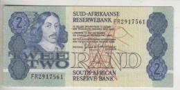BILLET AFRIQUE DU SUD - P.118 (voir Signature) - 2 RAND - 1981 - RAFFINERIE - South Africa