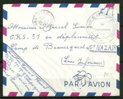 LETTRE Oblitérée De TUNISIE  - 2° BATAILLON DU 4° REGIMENT DE TIRAILLEURS - - Tunesien (1956-...)