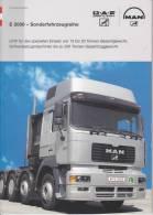 Revue Man - E 2000 Kraftwagen ... Camion - Livres, BD, Revues