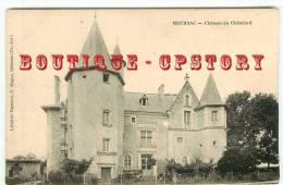 PRIX FIXE < 17 - MEURSAC - Le Chateau Du Chatelard Aux Environs De Gémozac - Dos Scanné - Autres Communes