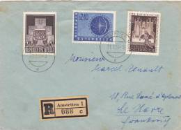 Amstetten 1956 - Recommandé Registered Brief Letter Lettre - Poststempel - Freistempel