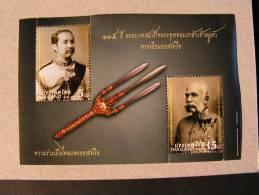 ==  Thailand , 2012  Block Kaiser Franz & King ** MNH - Thailand
