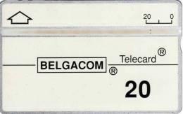 Belgacom Telecard : 20 - Sans Puce