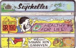 SEYCHELLES HEALTHY FOR LIFE 240U UT BAD CONDITION LOOK SCAN - Seychelles