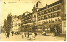 Blankenberghe : La Digue Et Grand Hôtel Des Bains - Animée !!! - Blankenberge