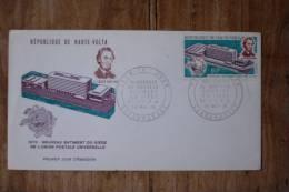 I 4  1970 FDC  LINCOLN  1809-1865 - Opper-Volta (1958-1984)