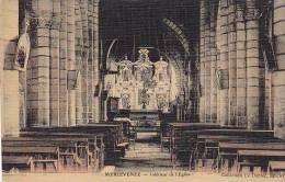 21402 Merlevenez - Interieur église Coll Le Dantec Epicier - Colorisée Toilée
