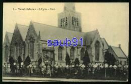 Vleteren  - Westvleteren -  L' Eglise  - Kerk -  Guerre 1914-1918  - Réf :27772 - Vleteren