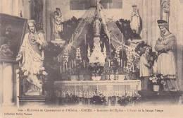 21414- Environs De Questembert Et D' Allaire - CADEN - Intérieur De L' Eglise Autel Sainte Vierge -609 David