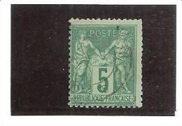 1876 - 1878   N° 75  Type Sage  YT - 1876-1878 Sage (Type I)