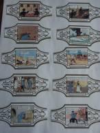 TINTIN SERIE BAGUES DE CIGARE LE CRABE AUX PINCES D´OR   HERGE - Tintin