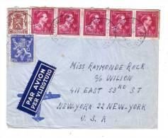 Belgique Péruwelz New York USA 1946 - België