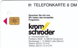 Kromschröder AG Osnabrück    O 2364-12/95  Rare - Deutschland