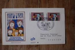I 4  1981 FDC  INTEGRATION AUSLANDISCHER ARBEITNEHMER FAMILIEN - [7] West-Duitsland
