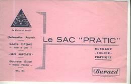 Buvard : Le Sac Pratique - Sports