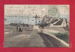 34-CPA CETTE, La Jetée - Sete (Cette)