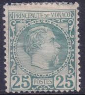 *PROMO* 25c Charles III Neuf * (Y&T N° 6 , Cote 1010€)