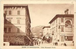 Italie -ref A781- Bagni Di Montecatini - Carte Bon Etat  - - Italie
