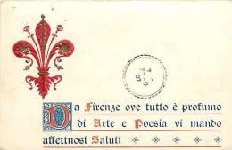 Italie -ref A763-florence -firenze    - Carte Bon Etat  - - Firenze (Florence)