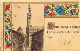 Italie -ref A762-florence -firenze    - Carte Bon Etat  - - Firenze (Florence)