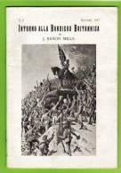 GRANDE GUERRA - 1917 - INTORNO ALLA BANDIERA BRITANNICA - Di J.SAXON MILLS -  TESTI E FOTO D'EPOCA - History, Biography, Philosophy
