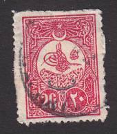 """Turkey, Scott #143, Used, """"Tughra"""" Overprinted, Issued 1908 - 1858-1921 Ottoman Empire"""