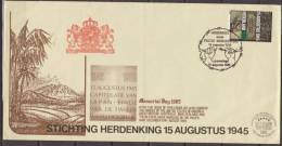 Nederland, Netherlands, 1985, Memorial WW2, Second World War, Special Cancelation - 2. Weltkrieg