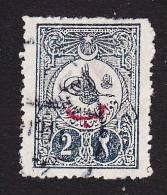 """Turkey, Scott #145, Used, """"Tughra"""" Overprinted, Issued 1908 - 1858-1921 Ottoman Empire"""