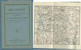 GRANDE GUERRA - 1917- RELAZIONE GENERALE DOUGLAS HAIG  SU OPERAZIONI 1916 - LONDON  HAYMAN CHRISTY LILLY,LTD - Storia, Biografie, Filosofia
