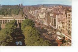 Princes Street From The Scott Monument Edinburgh 1975 - Midlothian/ Edinburgh