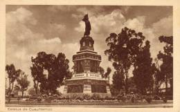 Estatua De Cuauhtemoc - Mexico