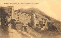 Italie -ref A604- Subiaco     -carte Bon Etat - - Italia