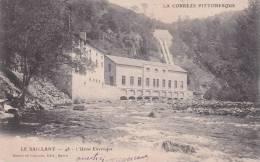 CPA 19 LE SAILLANT ,l'Usine Electrique. (1903) - Frankrijk