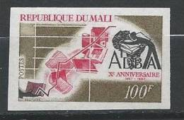 MALI -  Xème ,anniversaire ADBA Avec Un Livre Non Dentelé LUXE - Timbres