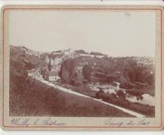 PHOTO 89 MAILLY LE CHATEAU Bourg Du Bas Période Fin XIX° Format 12.5 X 9.5 Cms Rare - Places