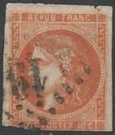 FRANCE - Bordeaux 40 C. Oblitéré Avec Une Couleur Lumineuse - 1870 Emission De Bordeaux