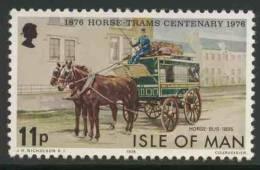 Isle Of Man 1976 Mi 80 YT 73 ** Horse-bus (1895) – Cent. Of Douglas Horse-Trams / Pferdebus - Diligences