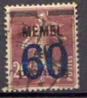 Memel 1921 Mi 35, Gestempelt [161212IV] @ - Memelgebiet