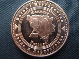 Coin Bosnia And Hercegovina  20 Feninga 2009 UNC - Bosnien-Herzegowina