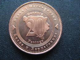 Coin Bosnia And Hercegovina  20 Feninga 2004 UNC - Bosnien-Herzegowina