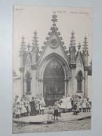 Carte Postale Ancienne : SECLIN : Chapelle Saint-Piat , Animé - Seclin