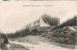0235. Postal MAULEON (Basses Pyrenées) Chateau Fort - Mauleon Licharre